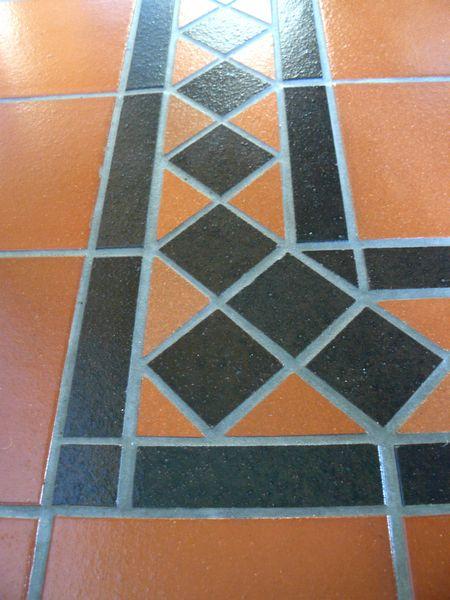 Quarry Tiles, hallway and kitchen floor - A.T. Ceramics